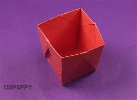 origami popcorn box simple object crafts project ideas 123peppy