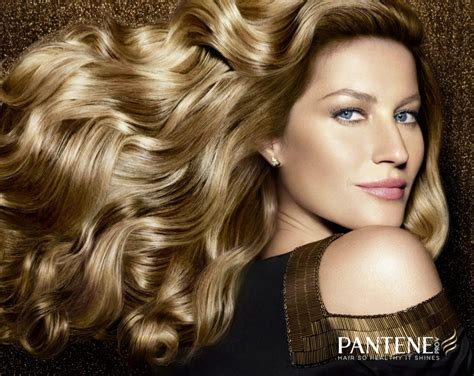 commercial model pantene gisele bundchen named new pantene ambassador