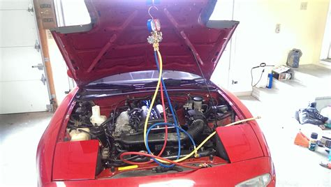 automobile air conditioning repair 2004 ford mustang transmission control recharging car air conditioning did it myself