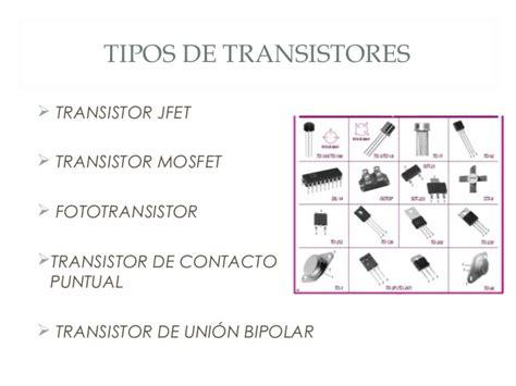 transistor bipolar tipos transistores