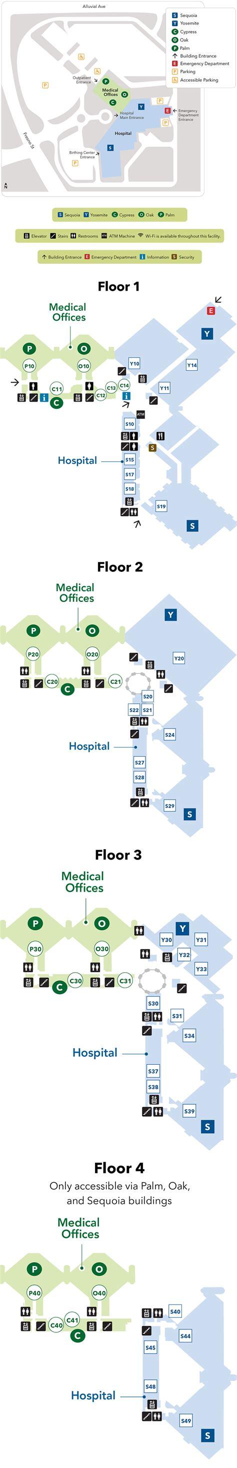northern california kaiser map fresno center cus map kaiser permanente fresno