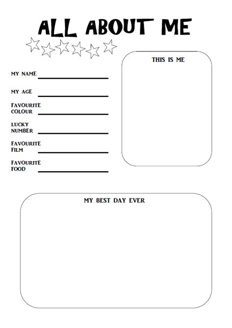 get to me template 28 get to me template get to me worksheet all about you