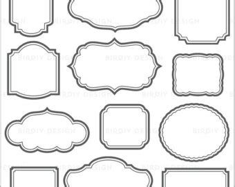 vintage frame templates for photoshop rustic chalk frames clipart chalkboard clipart vintage