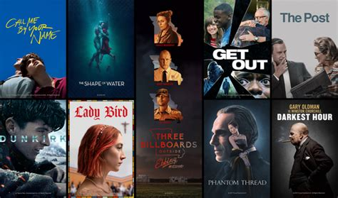 oscar film trailers oscars 2018 watch trailers for every best picture nominee