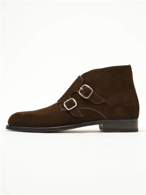 Handmade Chukka Boots - handmade monk chukka boots brown suede