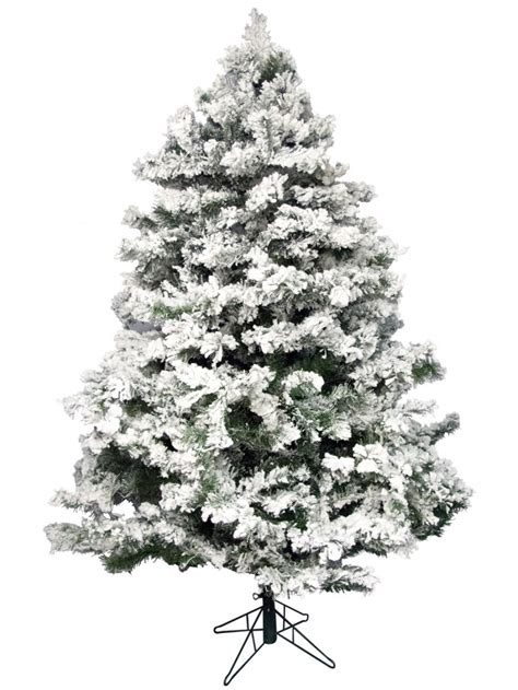 flocked antarctic pine christmas tree 2 3m christmas