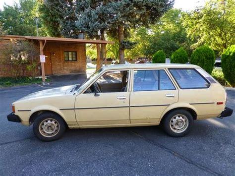 1980 Toyota Wagon Daily Turismo 2k Blandly Go Places 1980 Toyota Corolla