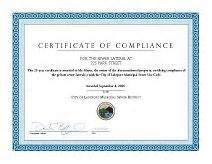 certificate of recycling template sewer lateral certification program sewer