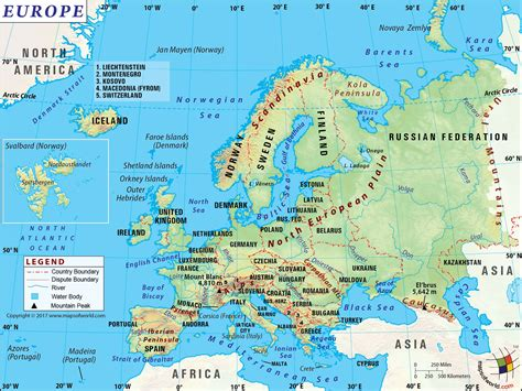 map of whole europe europe map