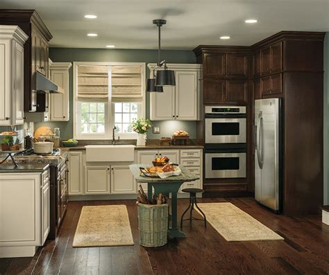 Toasted Antique Kitchen Cabinets by Overton Laminate Cabinet Doors Aristokraft