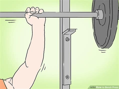 bench press steps how to bench press 13 steps with pictures wikihow