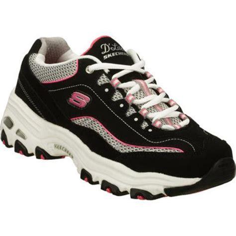 overstock athletic shoes s skechers d lites centennial black white