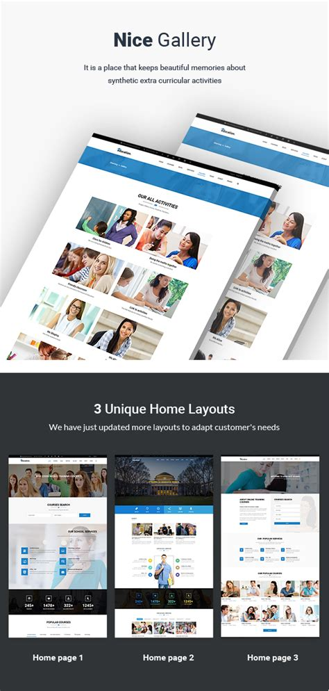 theme wordpress free lms education lms responsive wordpress theme by truemart