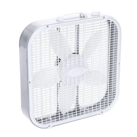 lasko 20 in 3 speed box fan 3733 the home depot