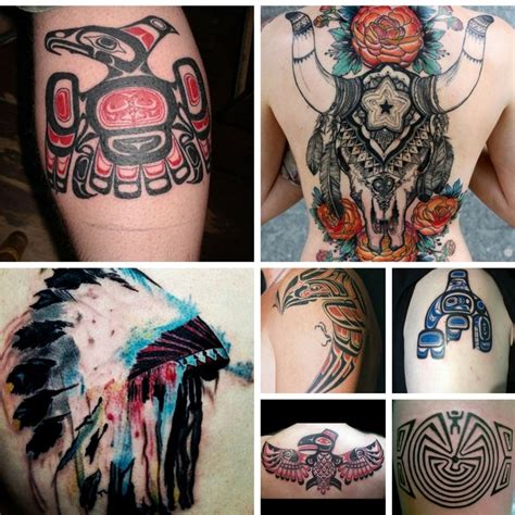 native american tattoo meanings american tribal tattoos and their meanings