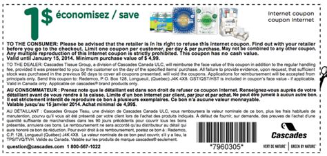 printable pers coupons canada 2014 cascades canada printable coupons save 1 00 on your next