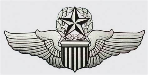 Wing Pilot Badge Us Air Usaf Emblem air wings clipart clipart suggest