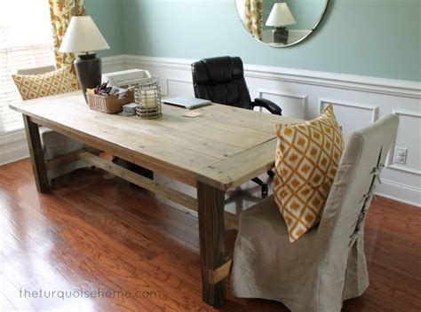 dining table as desk i m dreaming of a painted the turquoise home