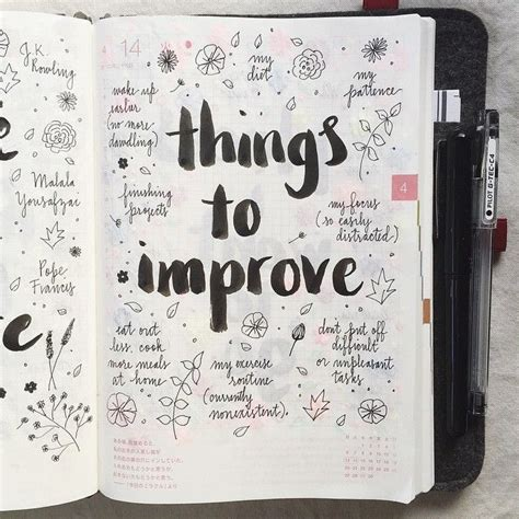 design journal ideas day 14 of the listersgottalist challenge things i need