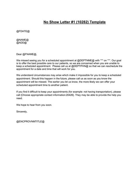 show letter adults template