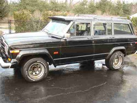 1988 Jeep Grand Wagoneer For Sale Sell Used 1988 Jeep Grand Wagoneer In Lincroft New Jersey
