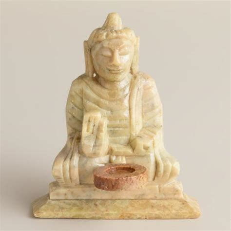 Soapstone Buddha soapstone buddha incense holder world market