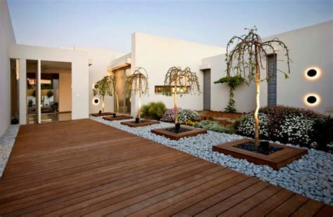modern home landscaping 16 captivating modern landscape designs for a modern backyard