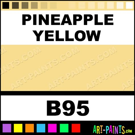 pineapple yellow graffiti spray paints aerosol decorative paints b95 pineapple yellow