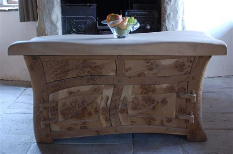 Handmade Kitchen Island - beautiful kitchens curved kitchens specialist kitchens