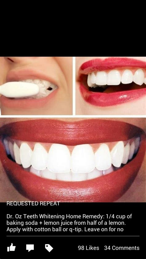 dr oz on pinterest 79 pins dr oz s teeth whitening recipe beauty pinterest