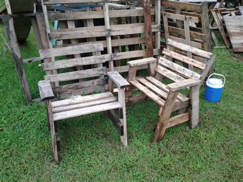 Rustic Patio Furniture Large : Rustic Patio Furniture DIY