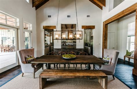 Living Room Dining Room Kitchen Layout Farmhouse Interior Design Ideas Home Bunch Interior