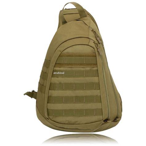 single sling backpacks waterproof large backpack gear pack tactical sling single