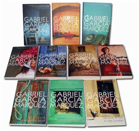 libro leaf storm gabriel garcia marquez collection 10 books set new