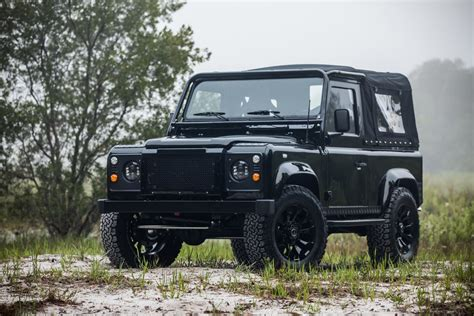 land rover defender corvette engined land rover defender 90