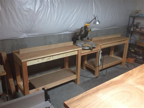miter bench miter saw bench router table by sgtrich lumberjocks