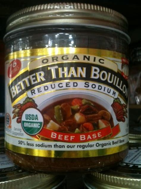 beef better than bouillon better than bouillon organic beef base reduced sodium