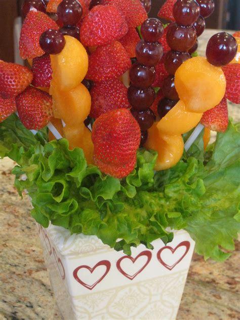 how to make a fruit centerpiece fruit bouquet a baker s house
