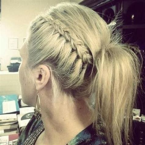 braided hairstyles side ponytail 5 chic hairstyles for the weekend hairstyles how to