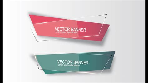 illustrator tutorial graphic design vector banner