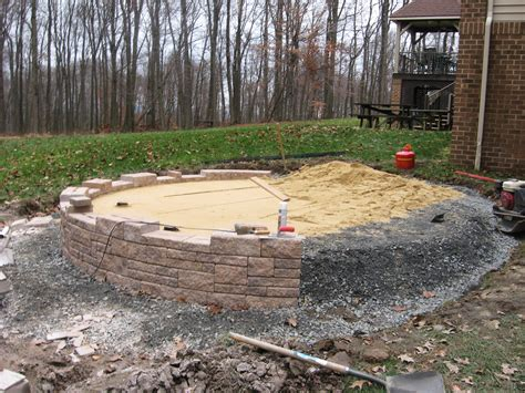 mount gretna patio project integrity land works