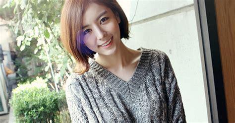 Gw 01 3tone Koream Blouse secret2girls two tone boxy knit top kstylick korean fashion k pop styles