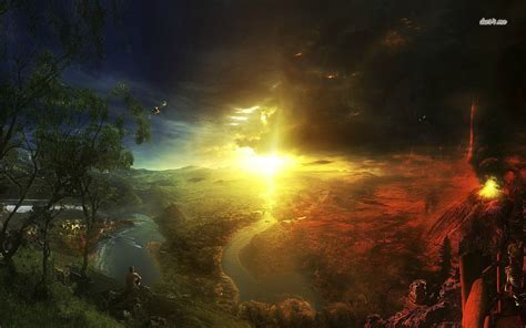 knowingly hd heaven and hell wallpaper wallpapersafari