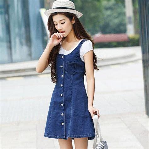 dress yana koreanstyle korean fashion denim dress sd00445
