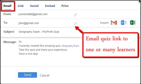 email quiz ten ideas to promote your quiz poll or survey proprofs