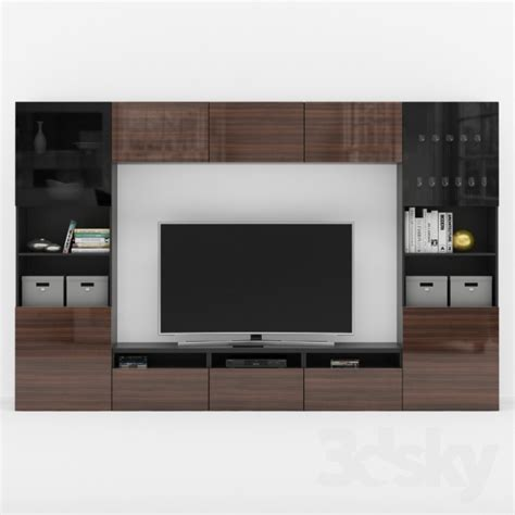 3d models: Wardrobe & Display cabinets   Ikea Besta TV Stand