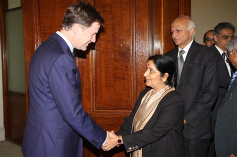 sushma swaraj wikipedia file deputy pm nick clegg meeting sushma swaraj external