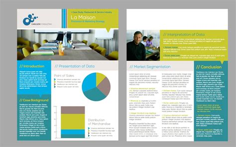single page brochure templates psd best and various templates ideas