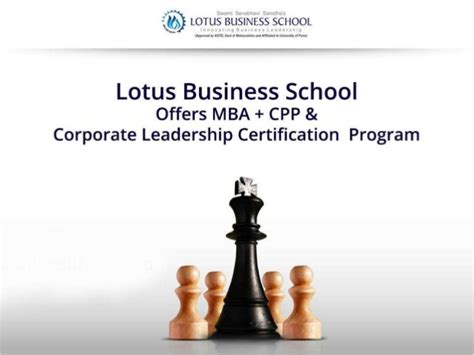 Mba Offers by Lotus Business School Offers Mba