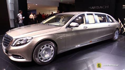 2016 mercedes maybach s600 pullman limo at 2015 geneva